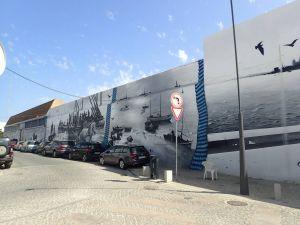 olhao 2 peint mural