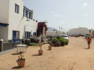 La graciosa rue de sable