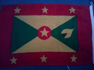 -drapeau de grenade.